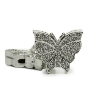 Пеперуда с ковани кристали
